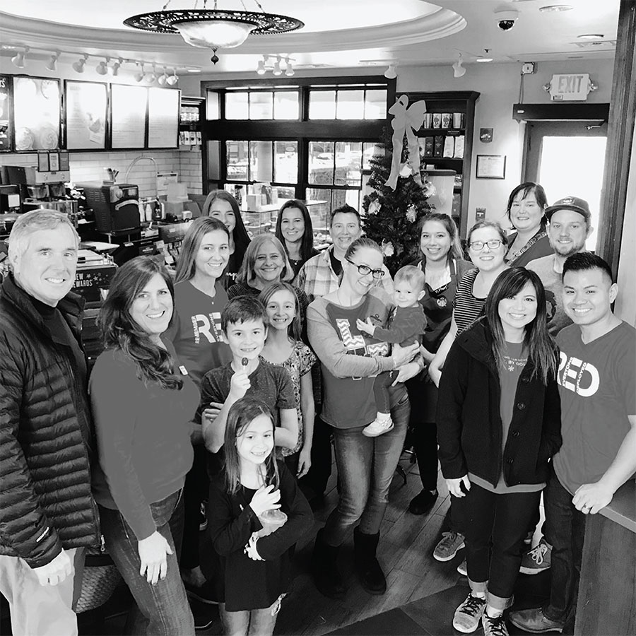Blue Star Families and Starbucks Community photo