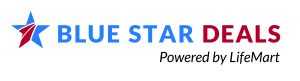 Blue Star Deals Powered by LifeMart logo