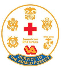 American Red Cross Utah Service to the Armed Forces logo
