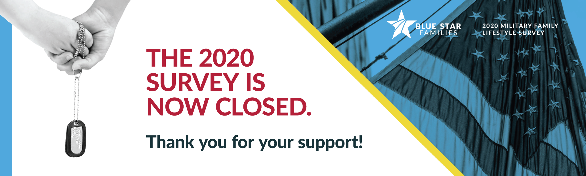 2020 Survey fielding closing graphic image