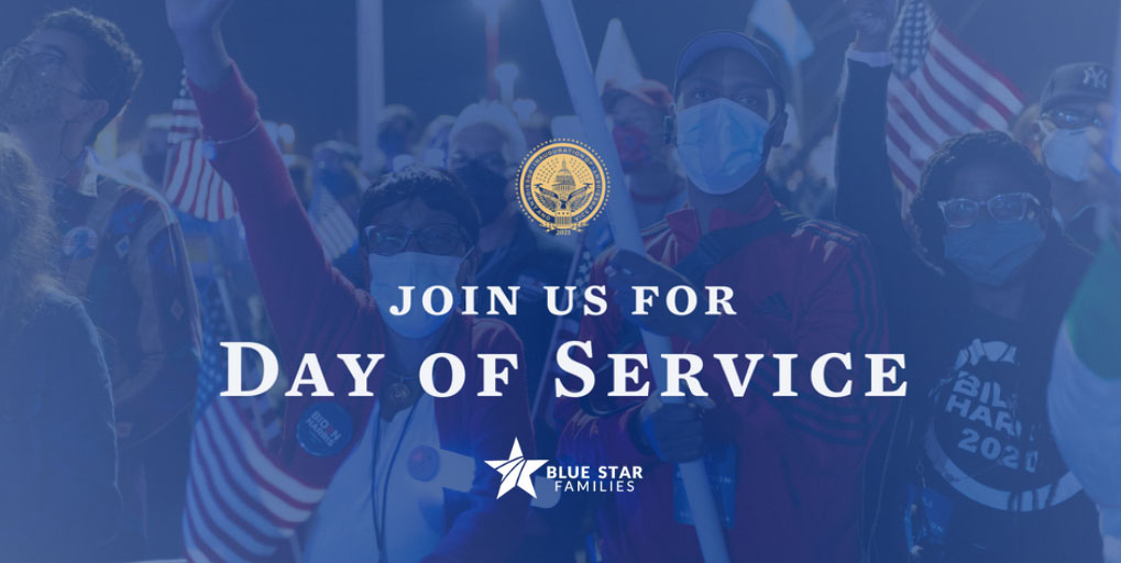 National Day of Service homepage graphic image