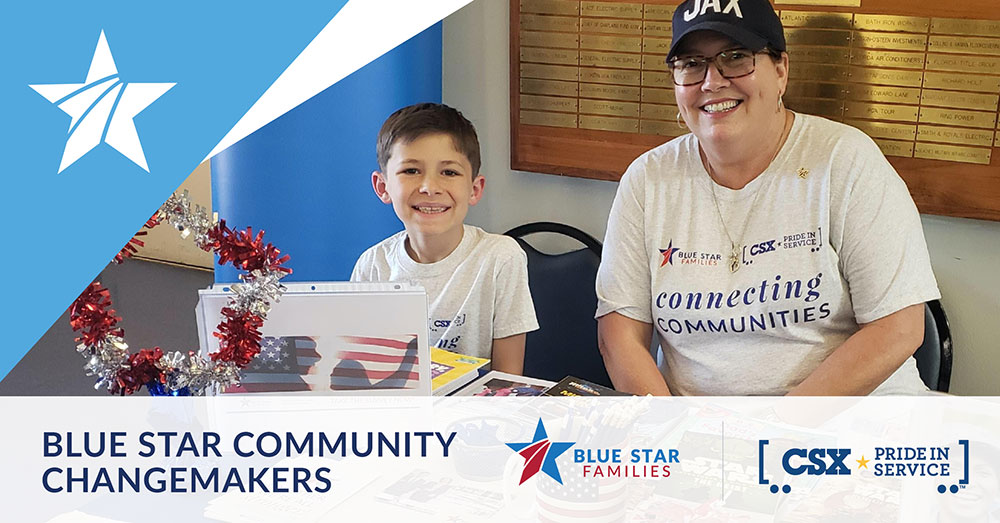 Blue Star Community Changemakers graphic image