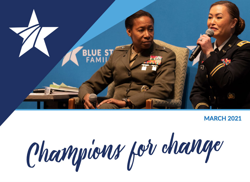 March Newsletter Champions for Change Header Banner graphic image