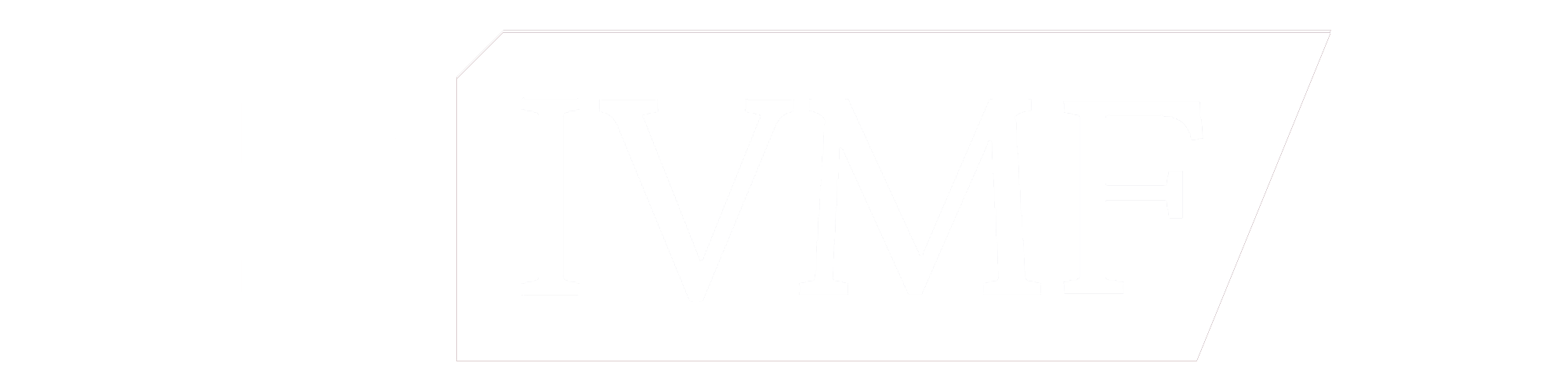 IVMF Logo white version