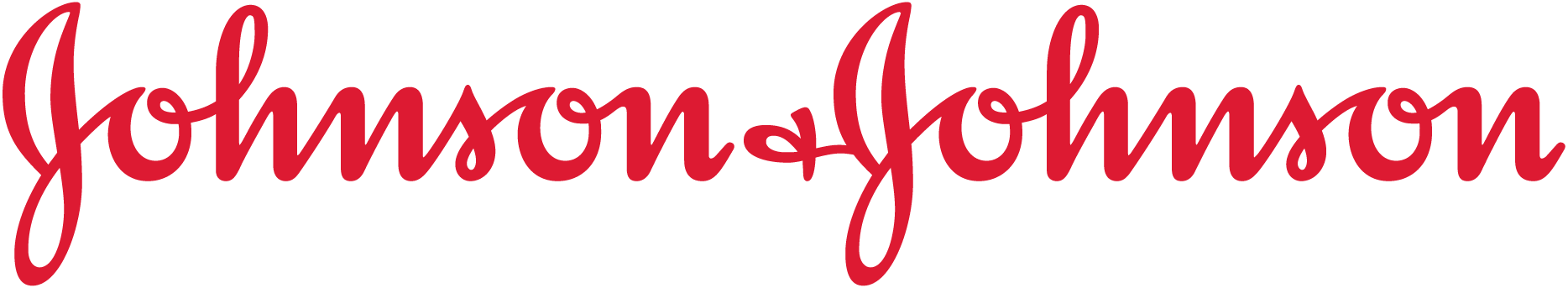 Johnson and Johnson red logo