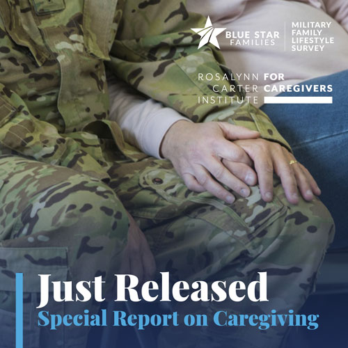 BSF RCI Caregiving in Military Families Cover